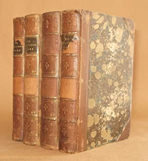 POEMS (4 VOLUMES COMPLETE) from the last London edition corrected by the Author: Elizabeth Barrett ...