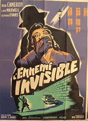 FRENCH CINEMA POSTER [AFFICHE] - L'ENNEMI INVISIBLE - [US TITLE, PASSPORT TO TREASON]: ...