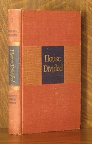 HOUSE DIVIDED - VOL. 2 (INCOMPLETE SET): Ben Ames Williams