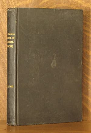 THE AMERICAN JOURNAL OF TROPICAL MEDICINE, VOL. 1, NOS. 1-6 (ALL 6 BI-MONTHLY ISSUES)1921: various