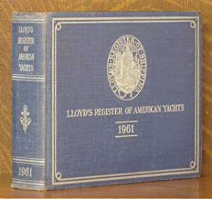LLOYD'S REGISTER OF AMERICAN YACHTS 1961: anonymous