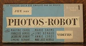 JEU DES PHOTOS-ROBOT (SERIE NO. 1 FACE): Roger Dambron