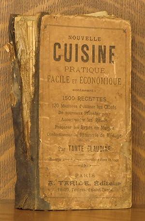 NOUVELLE CUISINE PRATIQUE, FACILE ET ECONOMIQUE: Tante Claudine