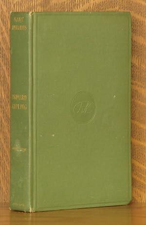 MANY INVENTIONS: Rudyard Kipling
