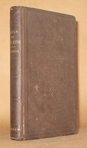 IDYLS OF THE KING Authors Edition: Alfred Tennyson