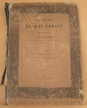 LA LEGENDE DU JUIF ERRANT Compositions et Dessins par Gustave Dore Graves Sur Bois Par Rouget, ...