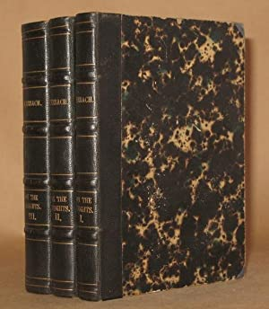 ON THE HEIGHTS (3 VOLUMES COMPLETE): Berthold Auerbach translated by F.E. Bunnett