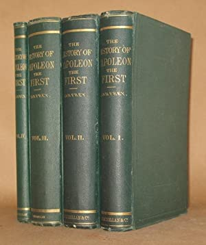 THE HISTORY OF NAPOLEON THE FIRST (4 VOLUMES COMPLETE): P. Lanfrey