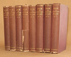 ENGLISH AND SCOTTISH BALLADS (8 VOLUMES COMPLETE): Edited by Francis James Child