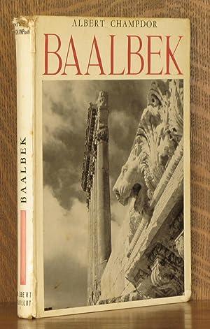 L'ACROPOLE DE BAALBEK: Albert Champdor