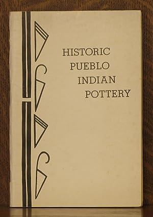 HISTORIC PUEBLO INDIAN POTTERY: Frances H. Harlow
