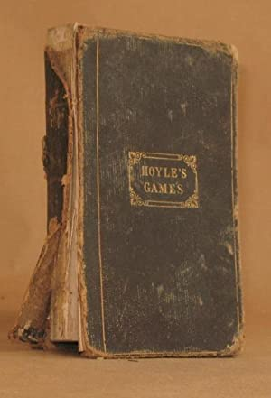 HOYLE'S IMPROVED EDITION OF THE RULES FOR PLAYING FASHIONABLE GAMES: Hoyle