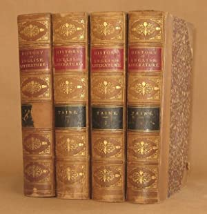 HISTORY OF ENGLISH LITERATURE (4 Volumes, complete) Translated from the French by H. Van Laun: H.A....