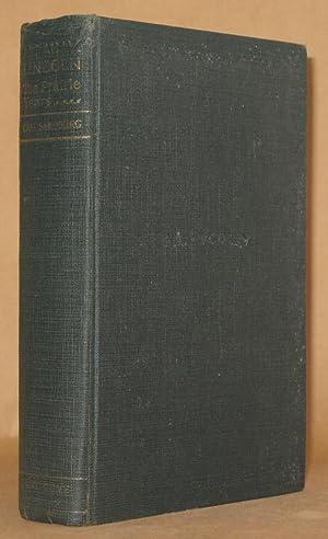ABRAHAM LINCOLN The Prairie Years 7th printing: Carl Sandburg
