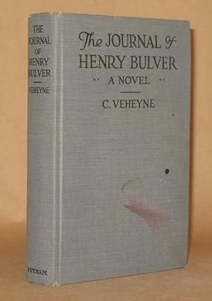 THE JOURNAL OF HENRY BULVER: C. Veheyne