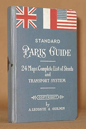 STANDARD PARIS GUIDE 1937 With a complete List of Streets and Transport System