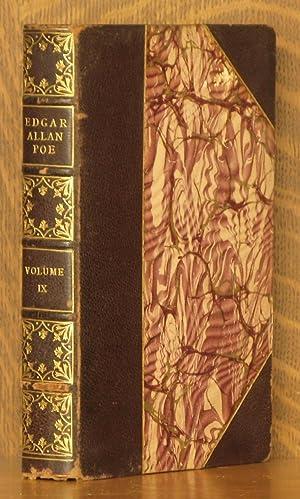 COMPLETE WORKS OF EDGAR ALLAN POE - VOL. IX CRITICISMS (INCOMPLETE SET): Edgar Allan Poe