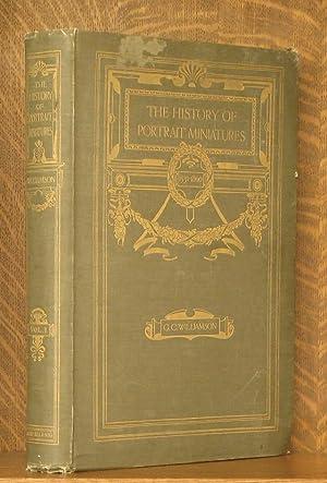 THE HISTORY OF POTRAIT MINIATURES - VOL 1 (INCOMPLETE SET): George C. Williamson