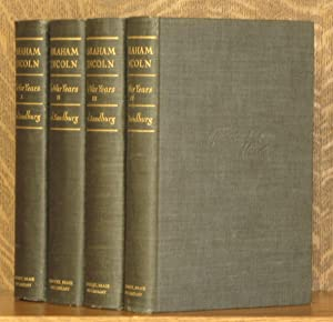 ABRAHAM LINCON, THE WAR YEARS (4 VOL. SET - COMPLETE): Carl Sandburg