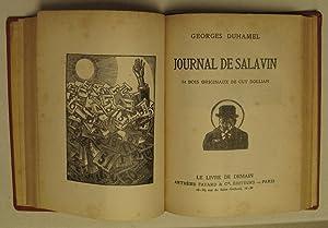 CONFESSION DE MINUIT (25 BOIS ORIGINAUX DE HERMANN PAUL) bound with JOURNAL DE SALAVIN (34 BOIS ...