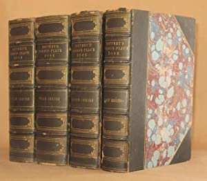SOUTHEY'S COMMON-PLACE BOOK (4 VOL SET, COMPLETE) Choice Passages. Collections for English ...