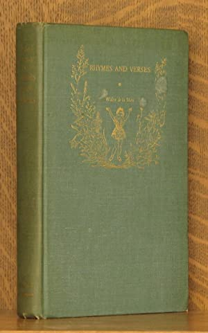 RHYMES AND VERSES, CLLECTED POEMS FOR CHILDREN: edited by Walter De La Mare, illustrated by Elinore...