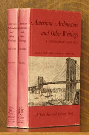 AMERICAN ARCHITECTURE AND OTHER WRITINGS [2 volumes, complete]: Montgomery Schuyler, edited by ...