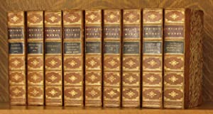9 VOLS. - INCOMPLETE SET (LACKS ONE VOL.) : COLUMBUS ETC., THE ALHAMBRA, ASTORIA OR, ANECDOTES OF...