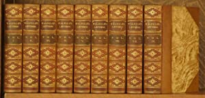 THE LETTERS OF HORACE WALPOLE (9 VOL. SET - COMPLETE)