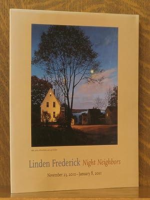 LINDEN FREDERICK - NIGHT NEIGHBORS, NOV. 2010: Linden Frederick