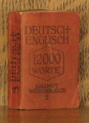 DEUSTCH-ENGLISH, LILIPUT WORTERBUCH: F. J. Wershoven