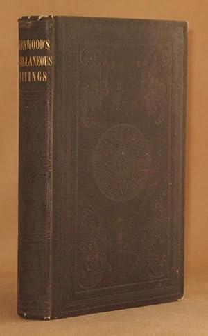 MISCELLANEOUS WRITINGS: F.W.P. Greenwood