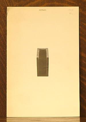 JOEL SHAPIRO FALL 1980: William H. Jordy