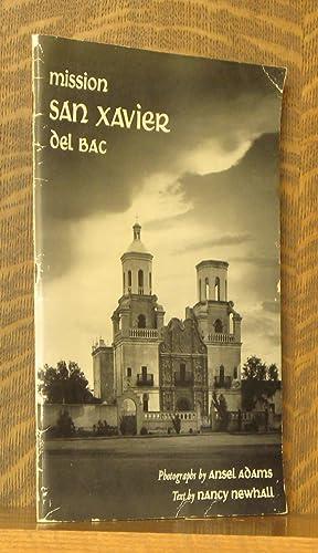 MISSION SAN XAVIER DEL BAC: Ansel Adams and