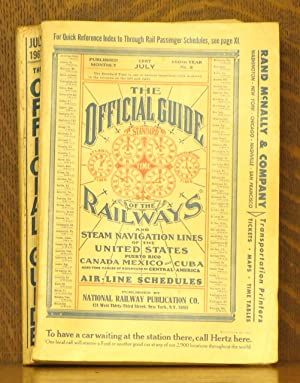 THE OFFICIAL GUIDE OF THE RAILWAYS.air-line schedules.JULY: various