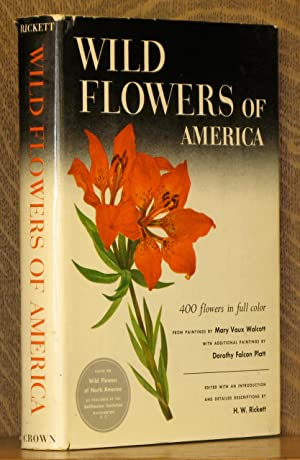 WILD FLOWERS OF AMERICA [SIXTH PRINTING]: Illustrations by Mary
