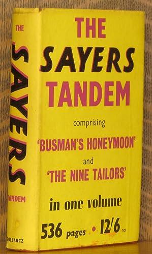 THE SAYERS TANDEM - THE NINE TAILORS,: Dorothy Sayers