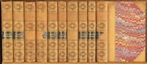 10 VOLUMES, BOUND UNIFORMLY: 1 - AN AUTOBIOGRAPHY;MY SCHOOLS AND SCHOOLMASTERS, 2 - FIRST ...