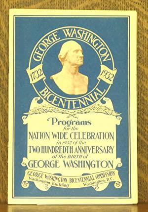PROGRAMS FOR THE NATION WIDE CELEBRATION IN: various