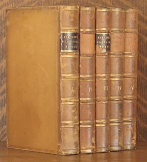 THE POETICAL WORKS OF EDMUND SPENSER (5 VOLUMES COMPLETE): Edmund Spenser