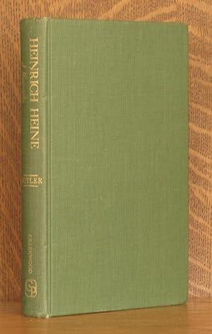 HEINRICH HEINE, A BIOGRAPHY: E. M. Butler