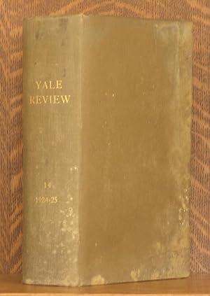 YALE REVIEW VOL. 14: Wilbur L. Cross editor