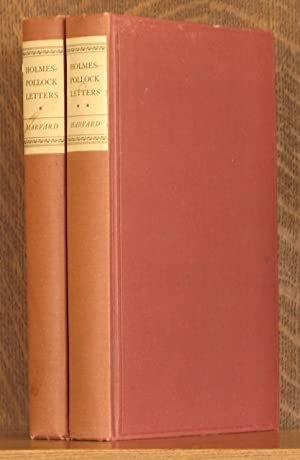 HOLMES-POLLOCK LETTERS (2 VOLUMES COMPLETE): Oliver Wendell Holmes, Frederick Pollock, Mark DeWolfe...