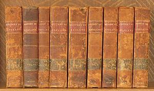 THE HISTORY OF ENGLAND (9 VOL SET - COMPLETE): Robert Bissett