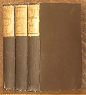 THE LIFE OF SAMUEL JOHNSON, LLD TOGETHER WITH A JOURNAL OF A TOUR TO THE HEBREDIES (3 VOLUMES ...