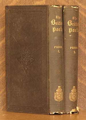 THE POETICAL WORKS OF MATTHEW PRIOR (2 VOLUMES COMPLETE): Matthe Prior