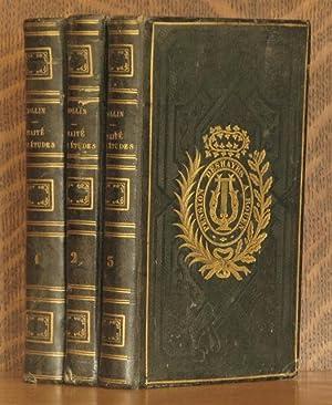 TRAITE DES ETUDES (3 VOLUMES COMPLETE): Rollin