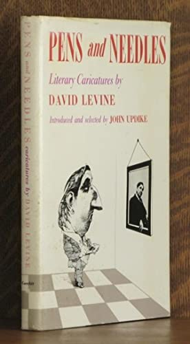 PENS AND NEEDLES: David Levine, intro by John Updyke