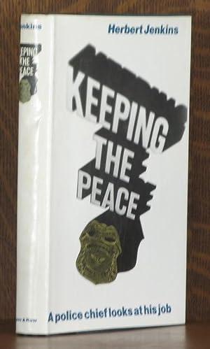 KEEPING THE PEACE: Herbert Jenkins