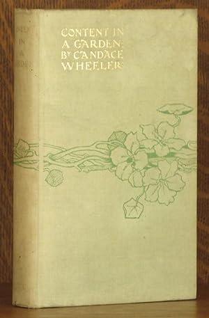 CONTENT IN A GARDEN: Candace Wheeler